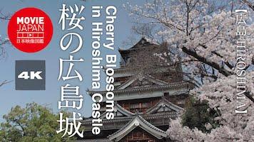桜の広島城
